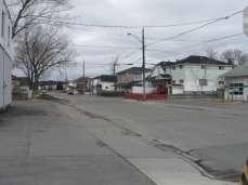 Une rue derrière la rédac'