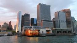 Dans le port d'Manhattan...