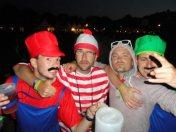 Aurel avec Mario et Luigi et Charlie © Aurel