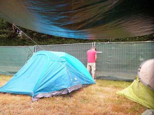Festival du Bout du Monde, les joies du camping