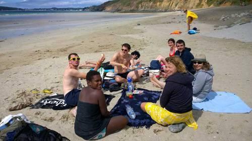 Crozon plage Festival du Bout du Monde