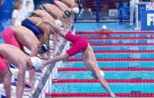 Faux départ en natation, Clément Mignon